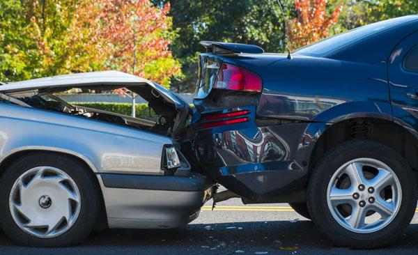 Unfall oder Parkschaden
